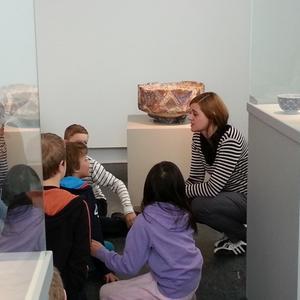 Educational programs at SKMU (Regional Art Museum)