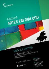 """Tertúlias """"Artes em diálogo: música e pintura"""""""