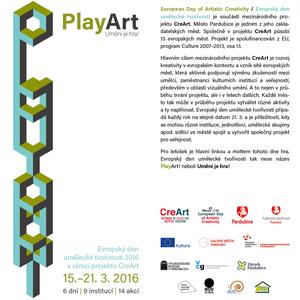 PlayArt! / Umění je hra!. City of Pardubice