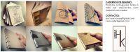 Workshop de cadernos de esquisso